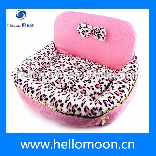 Top Quality Wholesale Luxury Soft Warm Luxury Pet Dog Beds Pink