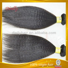 Best Selling 100% Human Hair Mongolian Double Drawn Virgin Hair