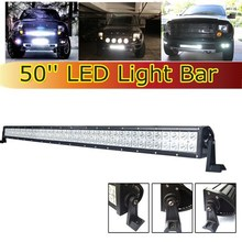 "sale leader 50"" 288W led light bar cr ee for Trucks 4x4 cr ee led driving light bars led6-288w"