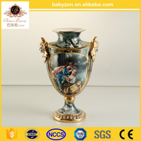 High-end cheap antique chinese porcelain flower vase wholesale
