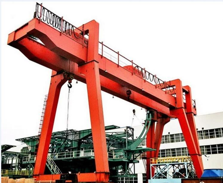 New Model Double Beam Gantry Crane Price 30 Ton Lifting Design Drawing For Sale