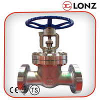 "API CF8/Stainless Steel Flanged Rising Spindle 2"" Inch Gate Valve"