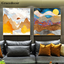 China Supplier Landscape Subjects Handpainted Oil Painting