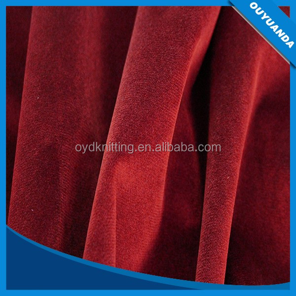 DTY Micro Fleece Soft 100% Polyester Super Soft 1mm Velvet/Velboa