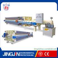hydraulic power number plate mud/wastewater filter press