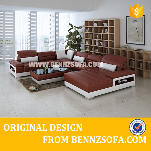 traditional leather sectional u shaped sofas