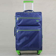 "20 "" 24 "" 28 "" Blue travel expandable trolley luggage carrier, carry-on luggage suitcase with spinner wheels"