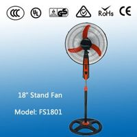 New Pattern Jeans Outdoor Cooling Standing Fan With Lights
