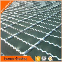 welded galvanized vehicle grating for parking lots