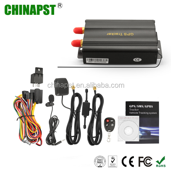 China Manufacturer Real time tracking gps tracker tk103/gps 103 car gps GPRS gsm mini global gps tracker PST-VT103B