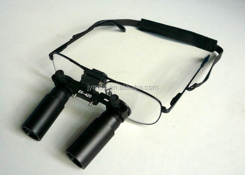 portable dental loupe magnifier magnifying glass 6x