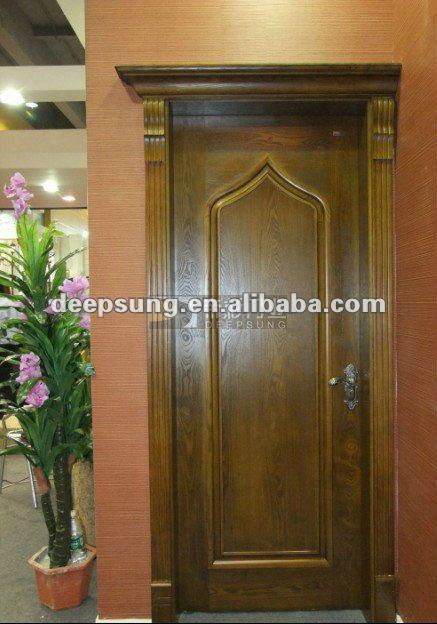 India and middle east popular antique type wood door