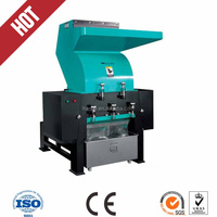 7.5kw cost of plastic recycling machine/hard plastic shredder/plastic crusher