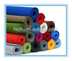 2015 Needle punched wool felt /carpet / fabrics for mattress and sofa