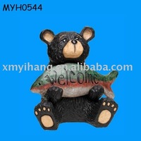 resin black bear