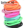 High Quality Basic Flat Elastic Hair Ties elastic ponytail holder for girls wholesale