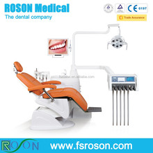 Hot selling dental unit with luxury dental chair and biult-in ultrasonic scaler & LED curing light