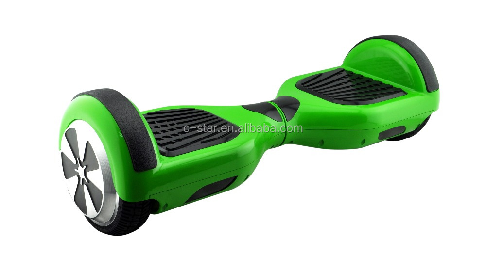 Factory Supplier 6.5 inch Adult electric scooter Hover Board, green 2 Wheel hoverboard