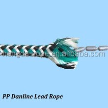 High quality 3 strand PP lead core rope