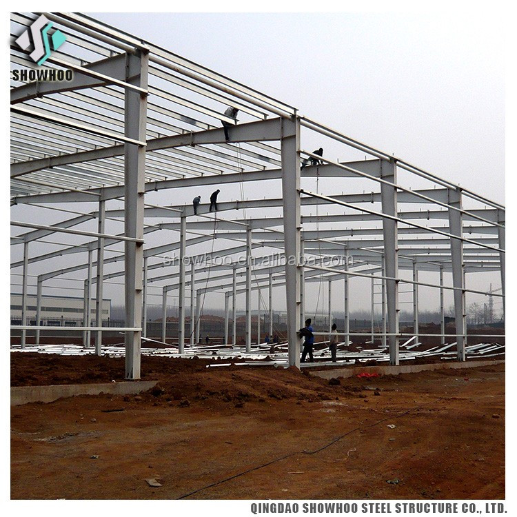 Structure steel factory function hall design from china alibaba