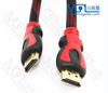 OEM braided high definition AV audio and video cable with magnetic ring high definition interface cable