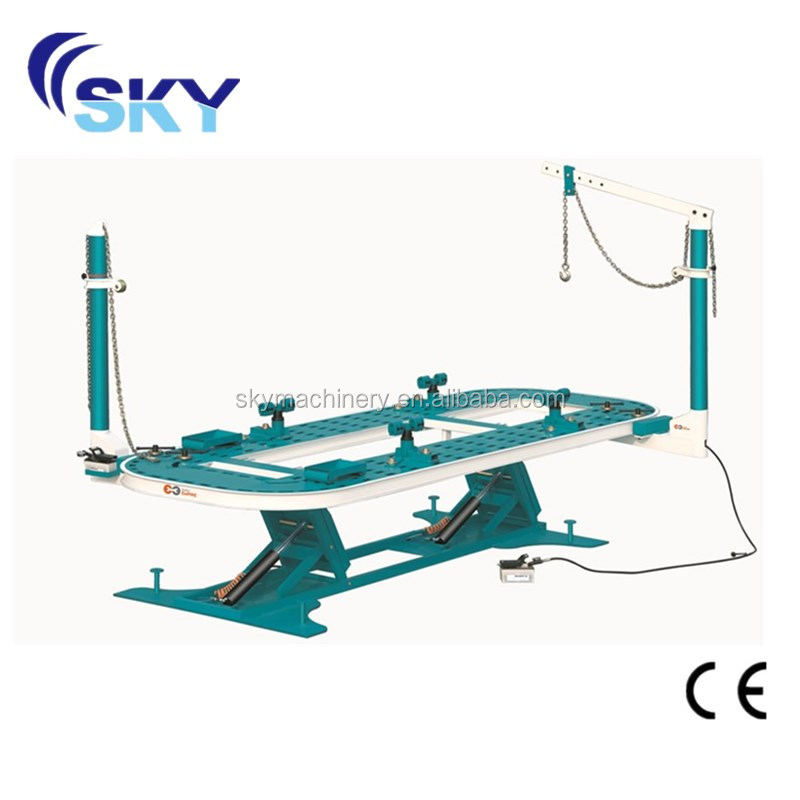 Sky FL2, 2014 round tower automotive frame machines mini car bench