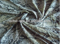 100% digital printed silk satin fabrics