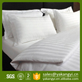 Queen Size Cotton Stripe Pattern Used Hotel Bedding Set