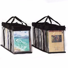 Handy Portable DVD Media Storage Bags Hold up to 80 Dvds Storage Case Organizer DVD Storage Bag