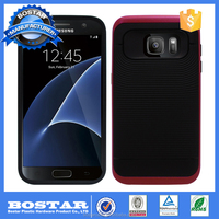 Wholesale Cell Phone Accessory Shockproof TPU Case Back Cover for Samsung Galaxy S7 Edge Case