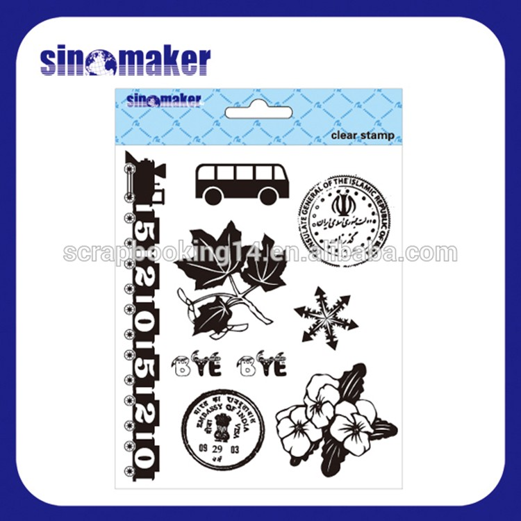 Hot Selling Lovely cheap sale clear stamp
