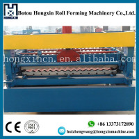 Aluminum/Zinc Metal Color Coated Roofing Sheet Corrugating Tiles Making Machine for Sale