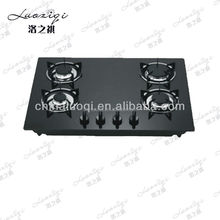 powerful fire tempered glass panel gas stove
