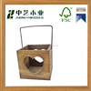 New design Custom China wholesale high quality candle holder wooden candle lanterns