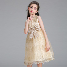 Low Price Kids Frock Designs Children Clothes Dresses For Girls Of 7 Years Old
