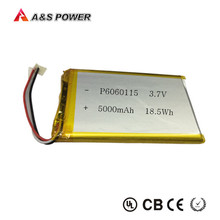 UL rechargeable 3.7v lithium polymer battery 5000mah with PCM for tablet pc