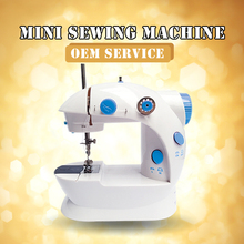 Factory priced Multifunction mini electric portable automatic sewing machine for shirt