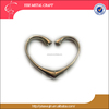 Hot products simple style metal heart shape handbag holder purse bag Hook for united states 2017 birthday wedding giveaways