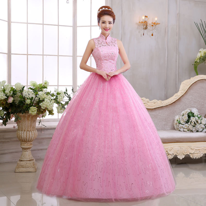 Wholesale pink prom ball gowns - Online Buy Best pink prom ball ...