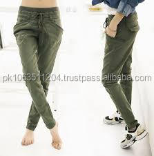 Fashion embroidery/print sweat pants both men and women