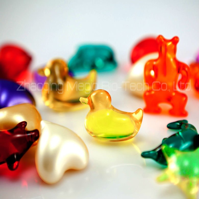 Frog shape Bath oil Bead, animal shape bath oil softgel capsule