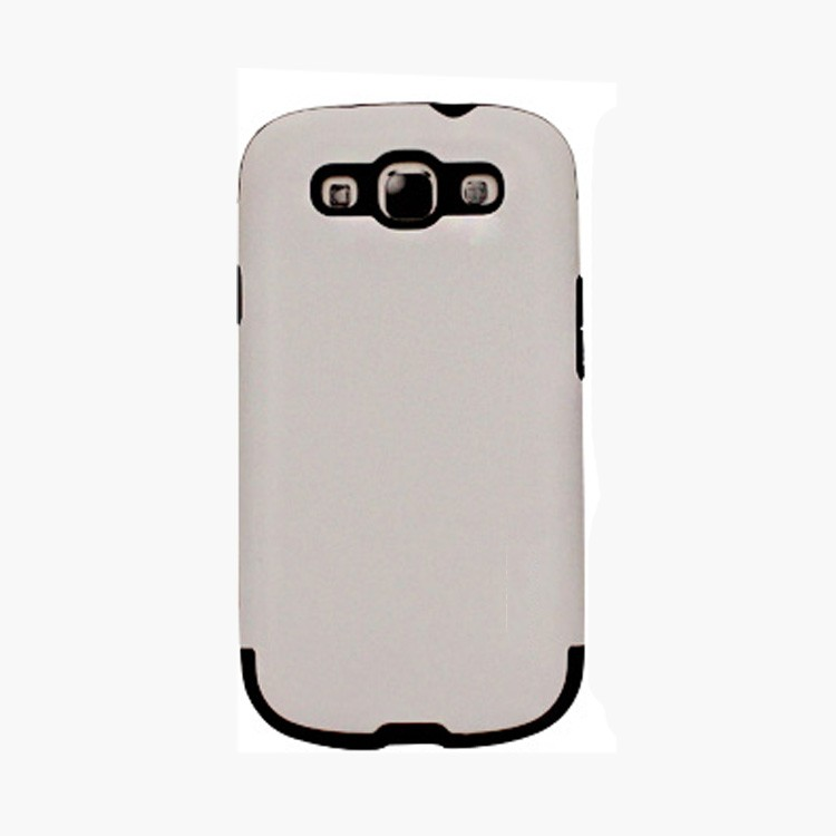 Latest new design TPU+PC white case for Samsung Galaxy s3
