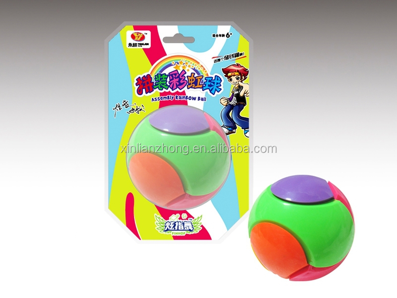 Plastic Magical puzzle mini ball for children Cube toys