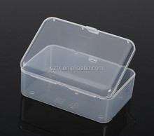 rectangle plastic transparent box for parts and component
