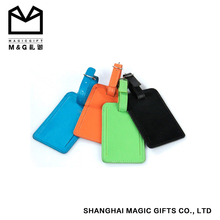 price leather/pu custom logo bulk luggage tags
