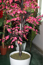 2014 hot sale artificial wintersweet potted plant tree wholesale
