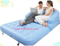 Inflatable Air Bed Mattress Camping Folding Airbed Holiday Beach Chair