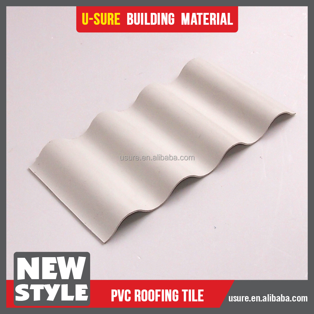 waterproof building materials applied portuguese plastic roof tile