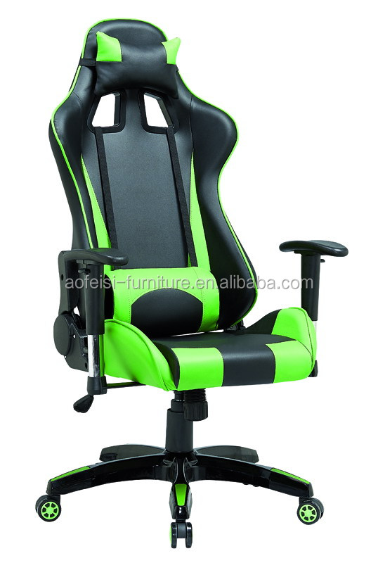 New design swivel PU leather office chair/adjustable racing chair/cheap PC gaming chair AF-C5806