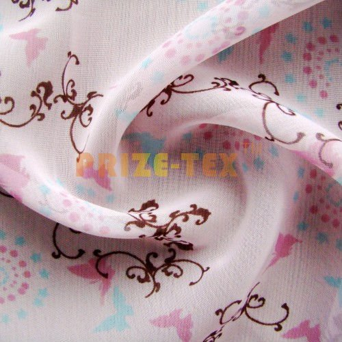 polyester chiffon for dress